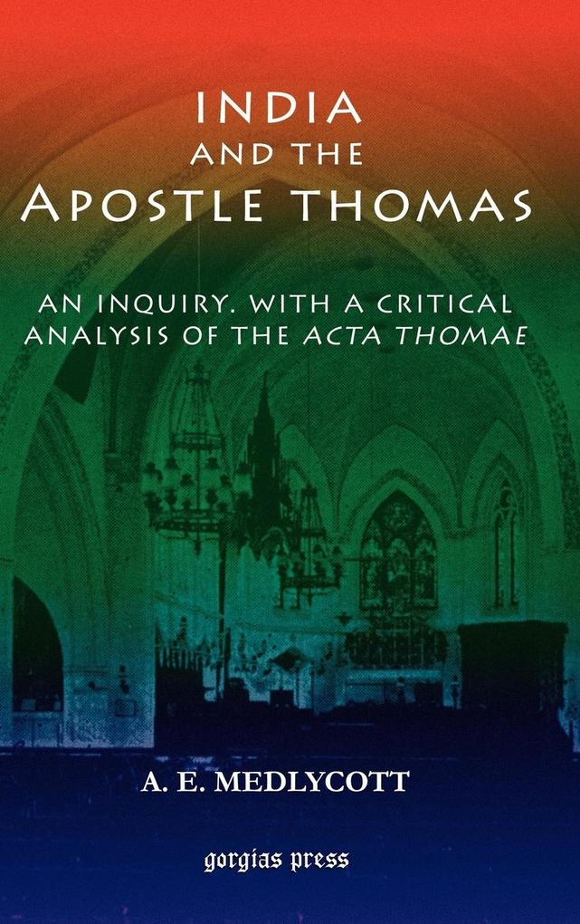 India and the Apostle Thomas als Buch