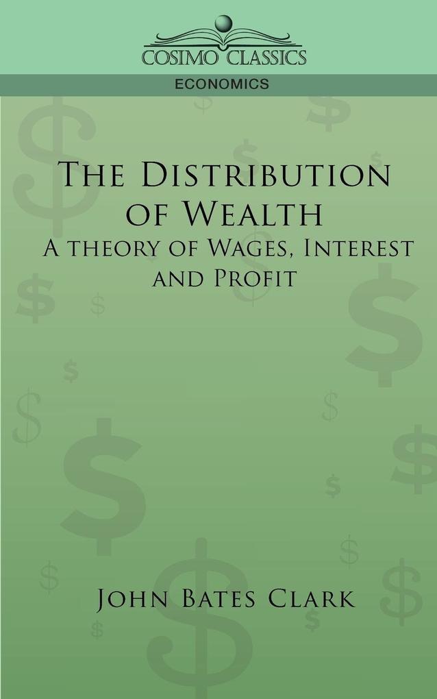 The Distribution of Wealth als Taschenbuch