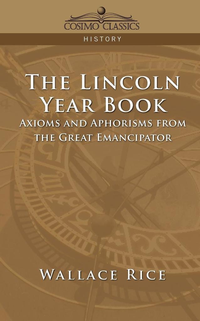 The Lincoln Year Book als Taschenbuch