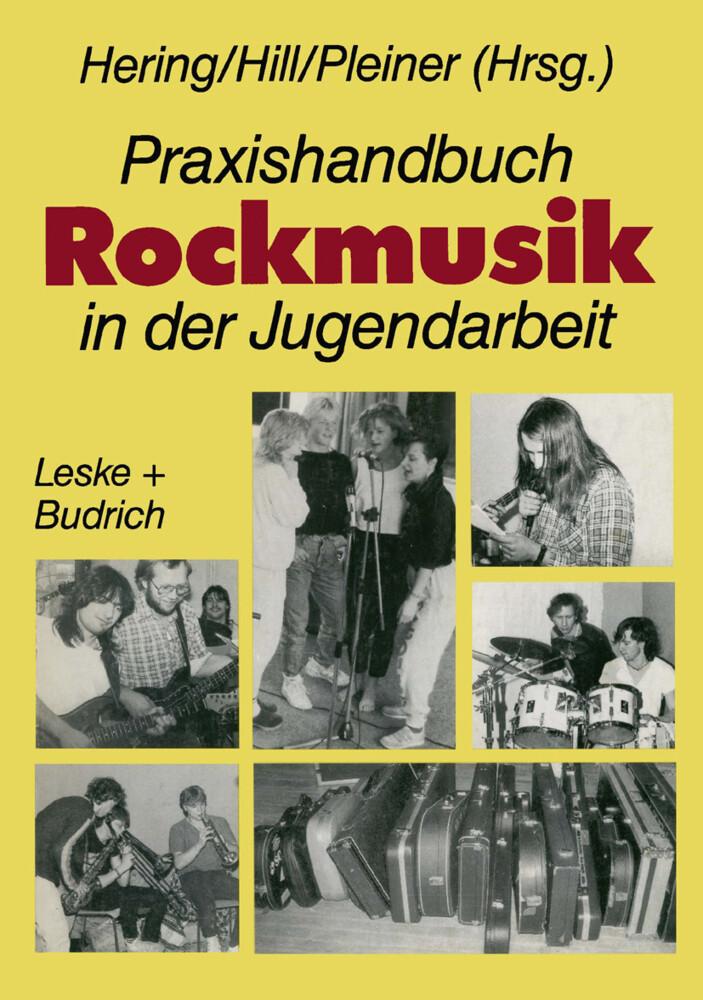 Praxishandbuch Rockmusik in der Jugendarbeit als Buch