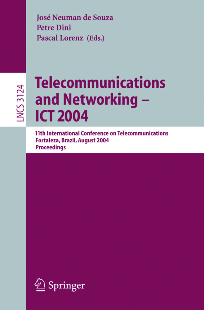 Telecommunications and Networking - ICT 2004 als Buch