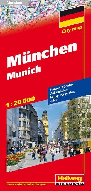 München Stadtplan 1 : 20 000 als Buch
