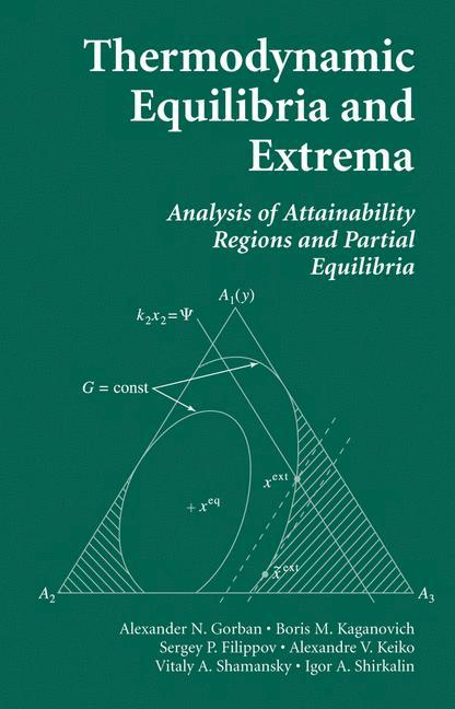 Thermodynamic Equilibria and Extrema als Buch
