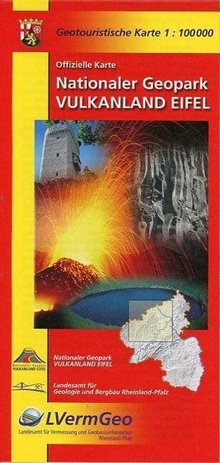 Vulkanland Eifel - Nationaler Geopark 1 : 100 000 als Buch