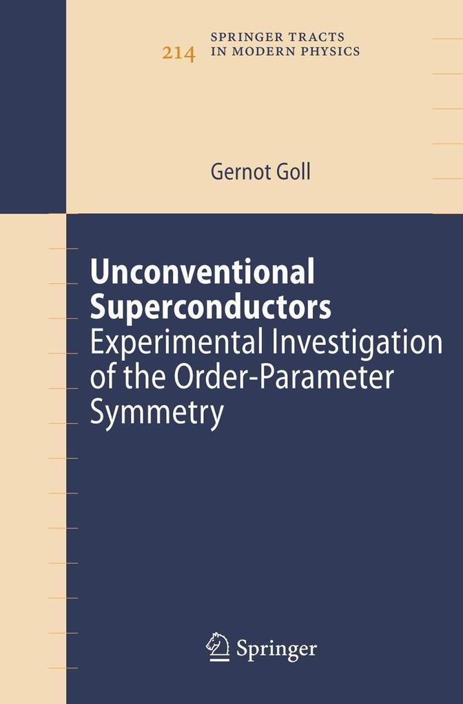 Unconventional Superconductors als Buch