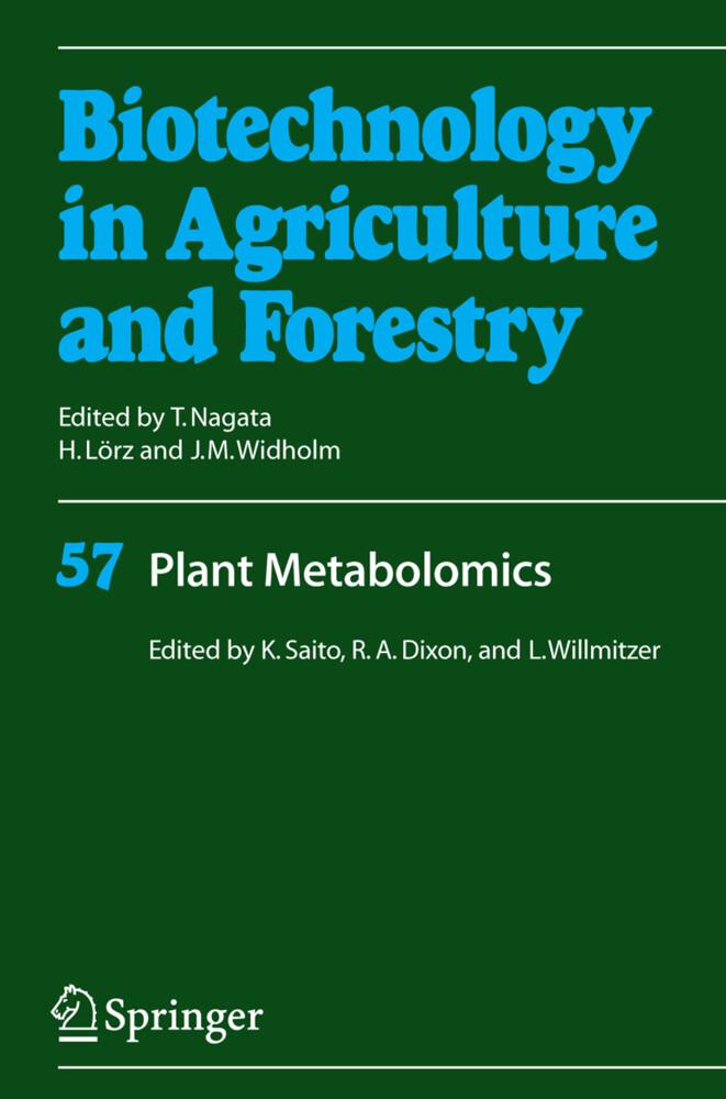 Plant Metabolomics als Buch