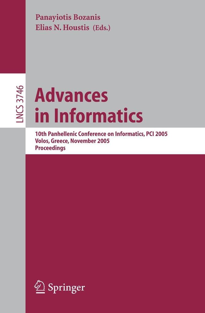 Advances in Informatics als Buch