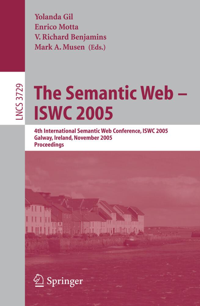 The Semantic Web -- ISWC 2005 als Buch