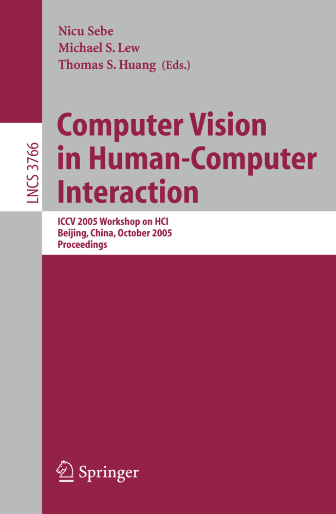 Computer Vision in Human-Computer Interaction als Buch
