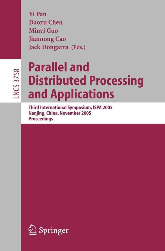 Parallel and Distributed Processing and Applications als Buch