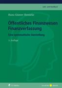 Öffentliches Finanzwesen - Finanzverfassung