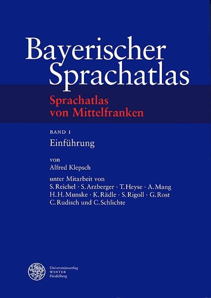 Sprachatlas von Mittelfranken (SMF) / Einführung als Buch
