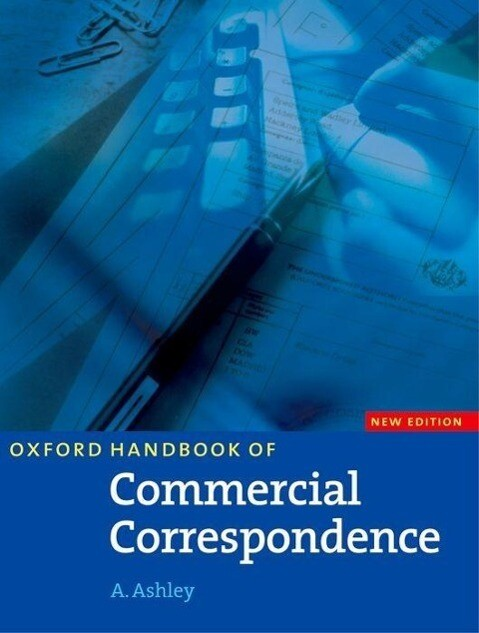 Oxford Handbook for Commercial Correspondence. Intermediate to Advanced als Buch