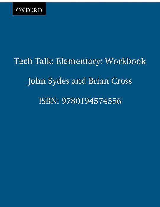 Tech Talk. Elementary. Workbook als Buch