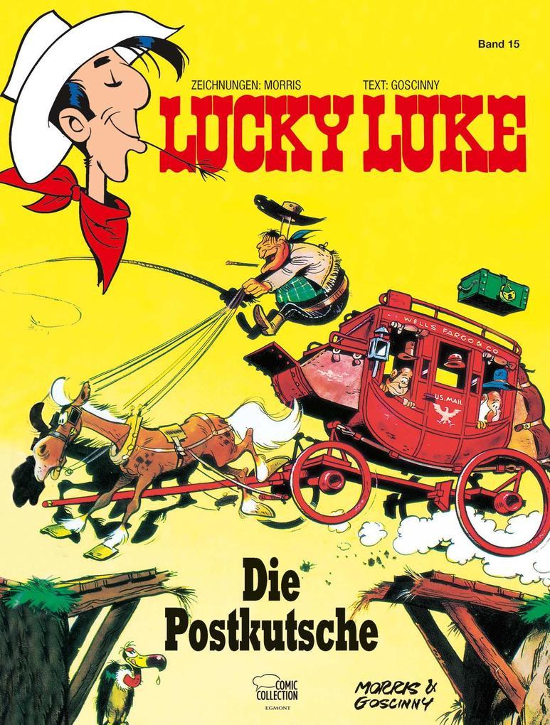 Lucky Luke 15 - Die Postkutsche als Buch