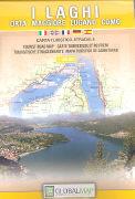 I laghi. Orta, Maggiore, Lugano, Como 1 : 100.000 als Buch