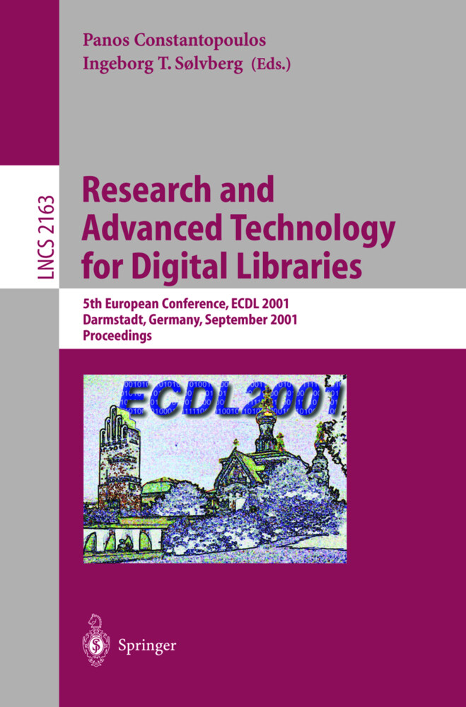 Research and Advanced Technology for Digital Libraries als Buch