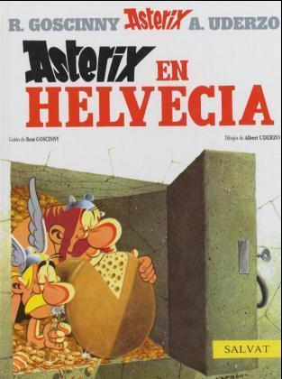 Astérix en Helvecia als Buch
