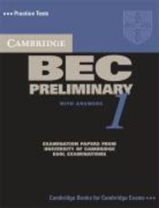 Cambridge BEC Preliminary 1 als Taschenbuch