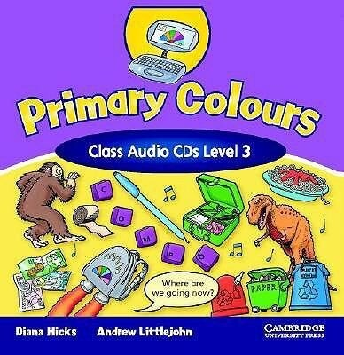 Primary Colours 3 Class Audio CD als Hörbuch