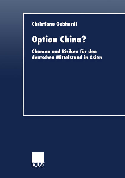 Option China? als Buch