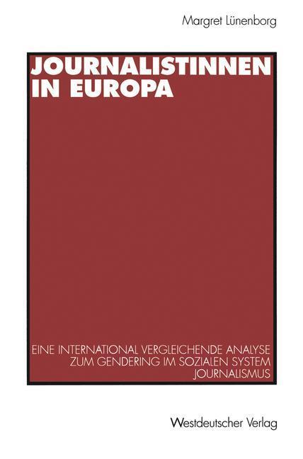 Journalistinnen in Europa als Buch