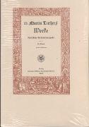 D. Martin Luthers Werke. Kritische Gesamtausgabe (Weimarer Ausgabe) Abteilung Schriften Band 55/II als Buch