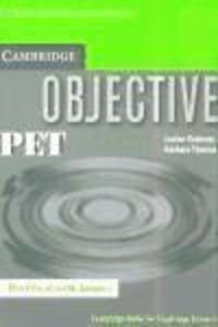 Cambridge Objective PET: Workbook with Answers als Taschenbuch