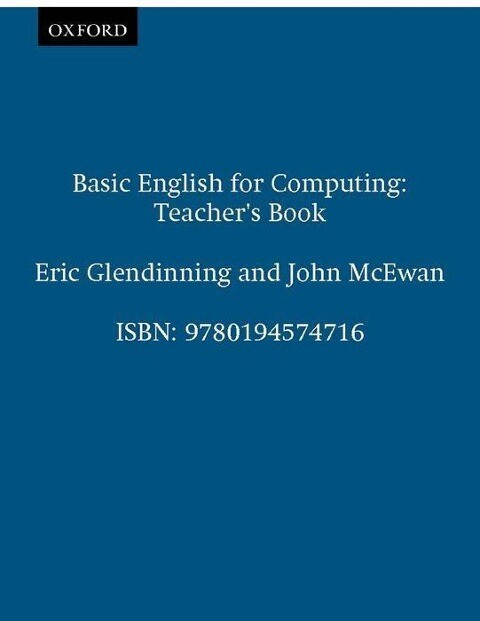 Basic English for Computing als Taschenbuch