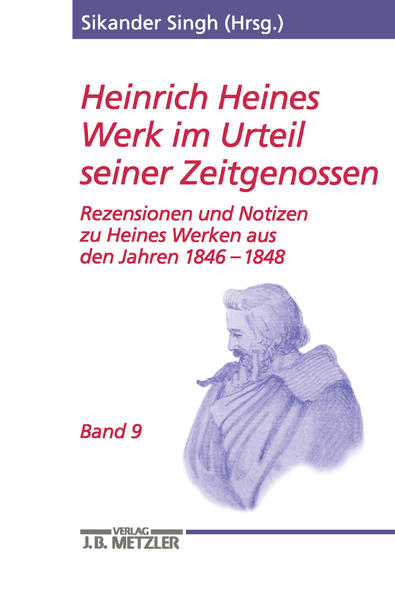Heinrich Heines Werk im Urteil seiner Zeitgenossen 09 als Buch