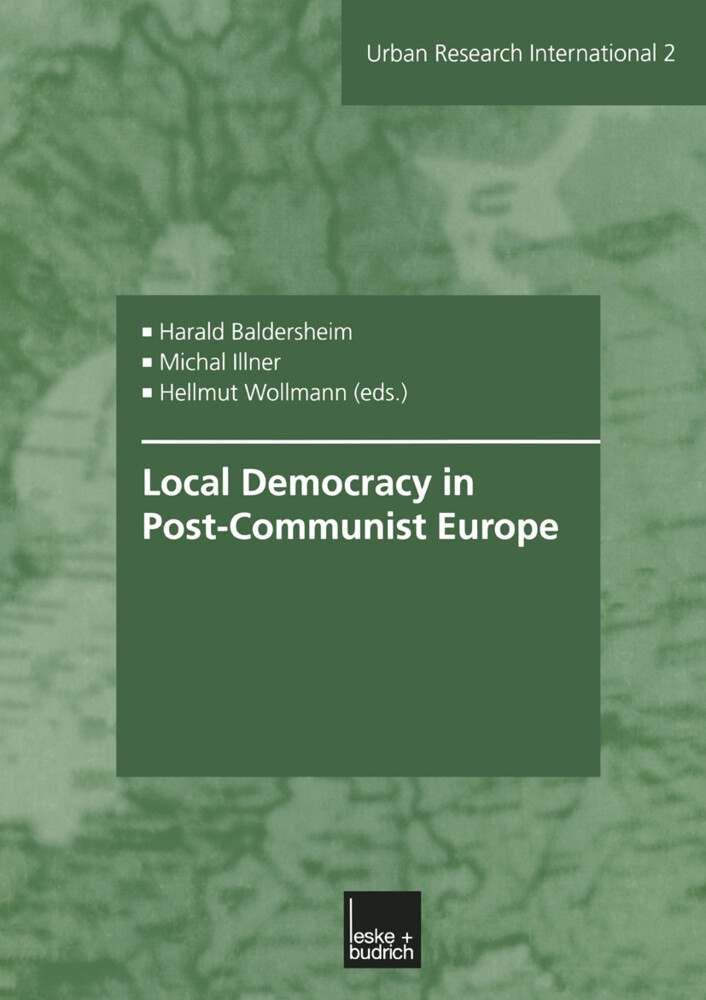 Local Democracy in Post-Communist Europe als Buch