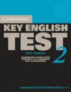 Cambridge Key English Test 2 with Answers: Examination Papers from the University of Cambridge ESOL Examinations: English for Speakers of Other Langua als Taschenbuch