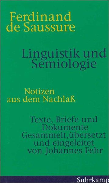 Linguistik und Semiologie als Buch