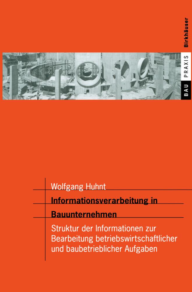 Informationsverarbeitung in Bauunternehmen als Buch