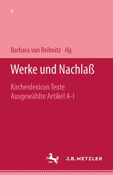Franz Overbeck: Werke und Nachlaß als Buch