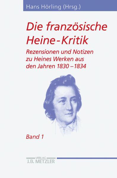 Die französische Heine-Kritik 1 als Buch