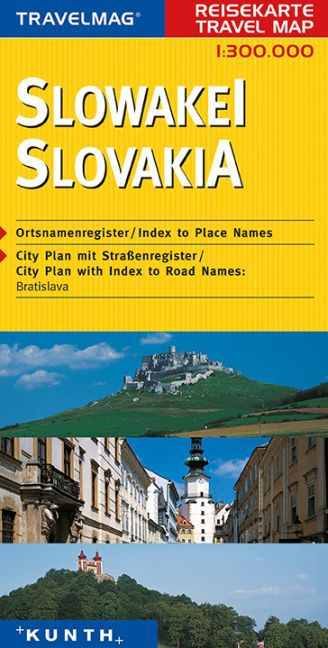 KUNTH Reisekarte Slowakei 1 : 300 000 als Buch