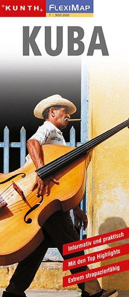 KUNTH FlexiMap Kuba 1 : 900 000 als Buch