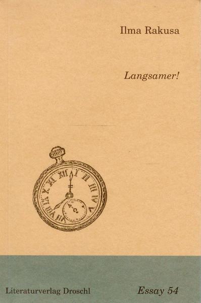 Langsamer! als Buch