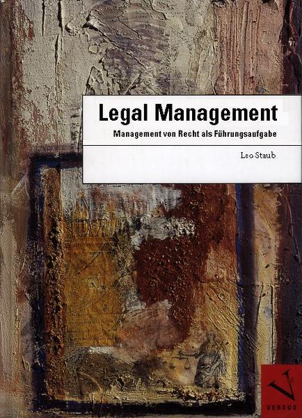 Legal Management als Buch
