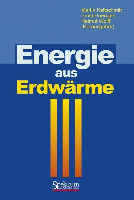 Energie aus Erdwärme als Buch