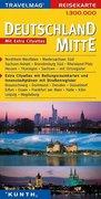 KUNTH Reisekarte Deutschland Mitte 1 : 300 000