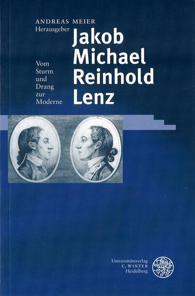Jakob Michael Reinhold Lenz als Buch