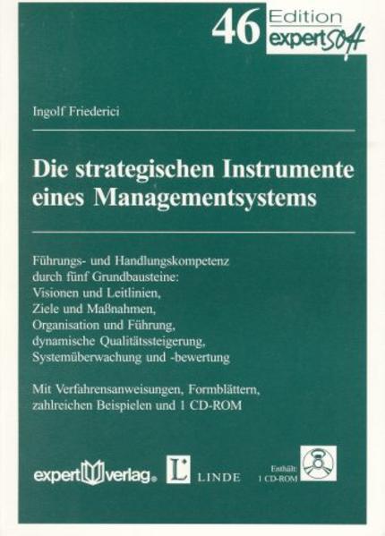 Die strategischen Elemente eines Managementsystems als Buch