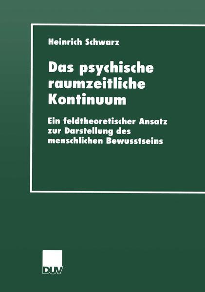 Das psychische raumzeitliche Kontinuum als Buch...