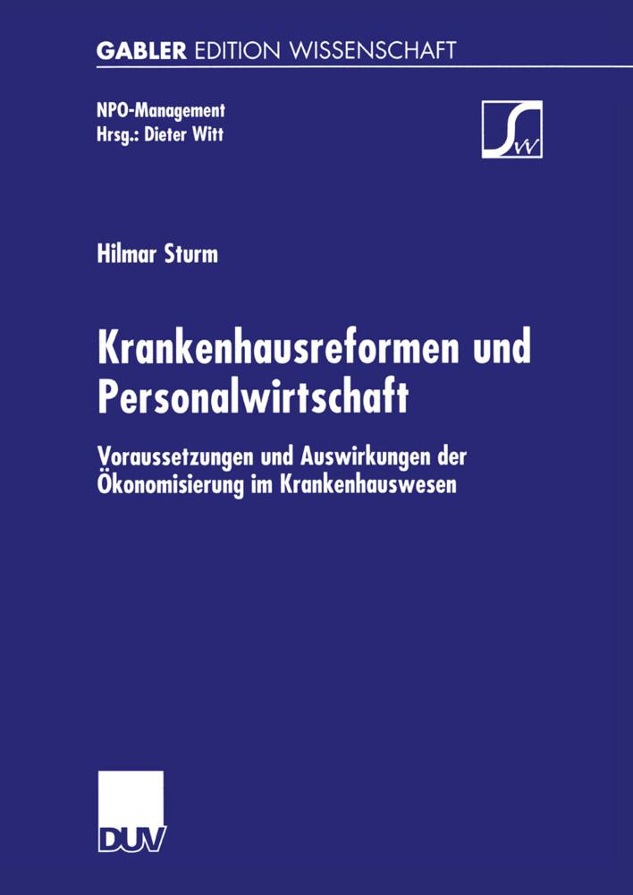 Krankenhausreformen und Personalwirtschaft als Buch