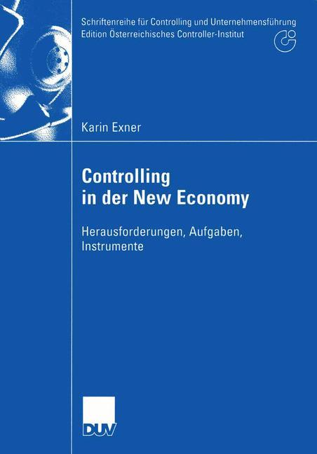 Controlling in der New Economy als Buch