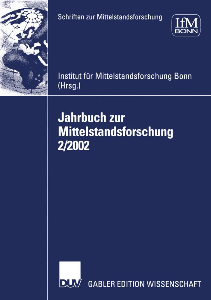 Jahrbuch zur Mittelstandsforschung 2/2002 als Buch
