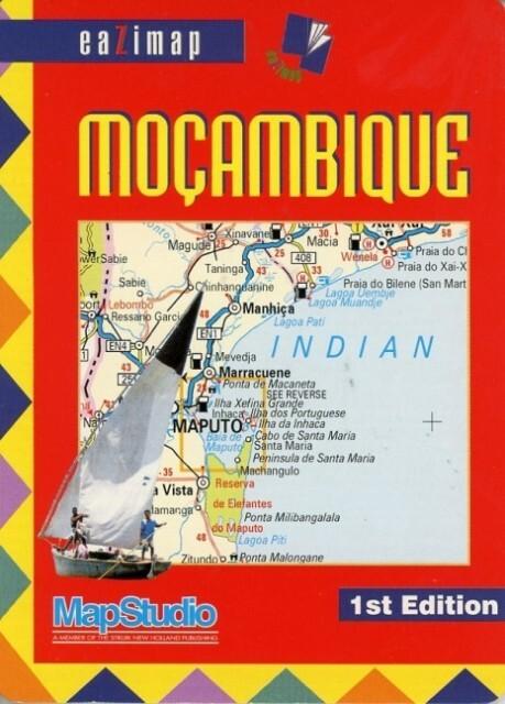 Mozambique Eazymap  1 : 2 900 000 als Buch