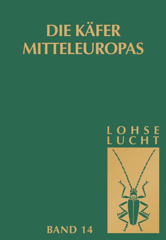 Die Käfer Mitteleuropas, Bd. 14: Supplementband mit Katalogteil als Buch